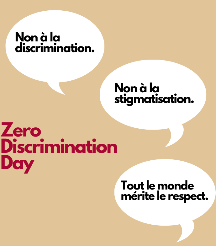 Zero discrimination day:  Together to end inequality