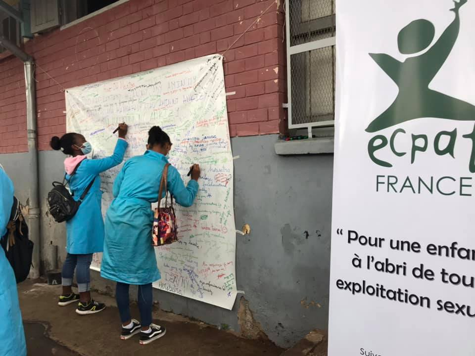 Mobilise, sensitize, and engage everyone in the fight against sexual exploitation of children