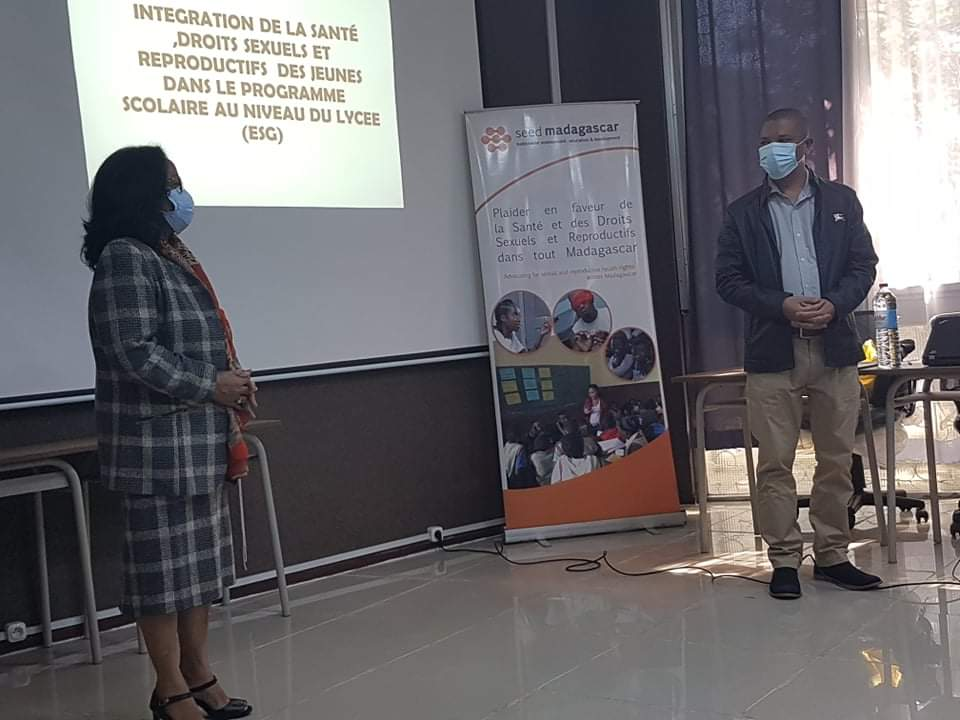 SEED Madagascar and its collaboration with MEN and ENS